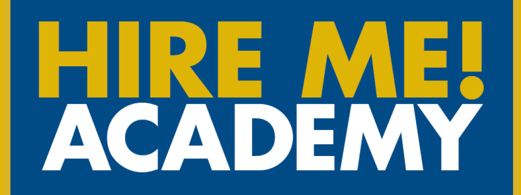 Hire Me Academy Banner