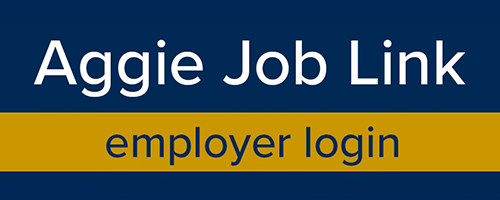 Aggie Job Link - Employer Login