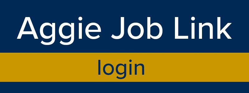 Aggie Job Link login