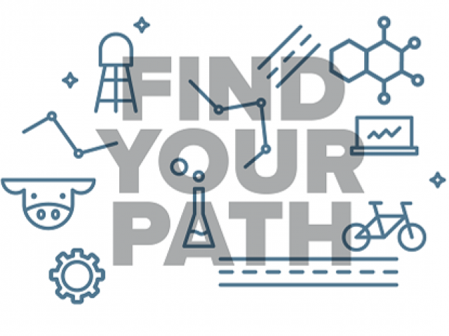 find your path graphic